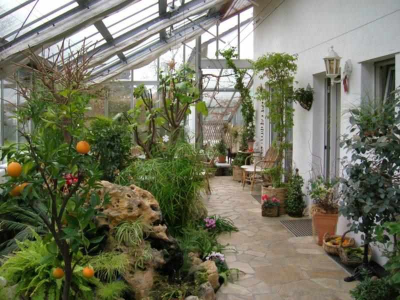 Wintergarten Oder Anlehnhaus Ist Eine Baugenehmigung